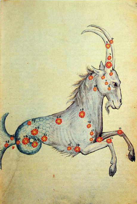Al Sufi, Llibro delle stelle fisse, Bibliothèque Nationale de France, Parigi
