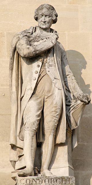Statua di Condorcet al Louvre