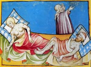 Peste bubbonica, Bibbia di Toggenburg