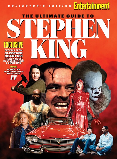 Entertainment celebra alcuni dei film tratti da Stephen King