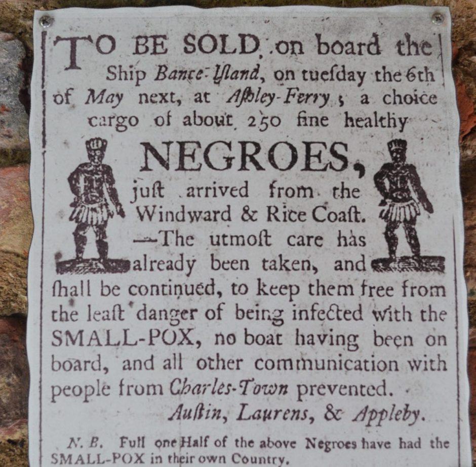 Asta pubblica per la vendita degli schiavi