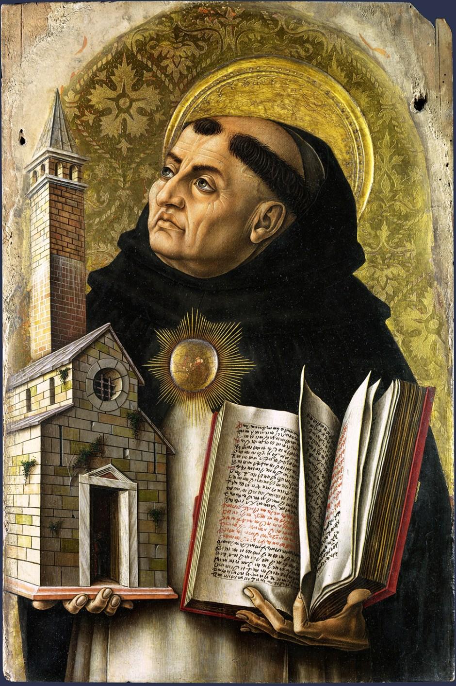 Carlo Crivelli. San Tommaso d'Aquino