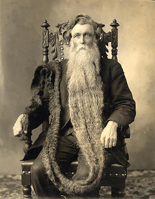 Hans Nilson Langseth, la barba più lunga del mondo