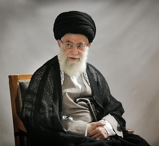 Iran. L'ayatollah Khamenei