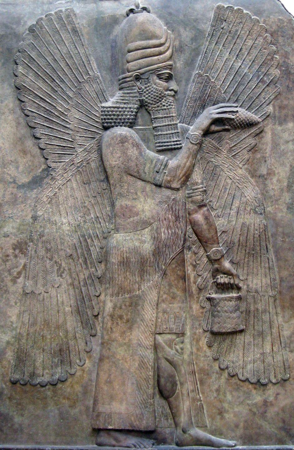 Il dio assiro Marduk