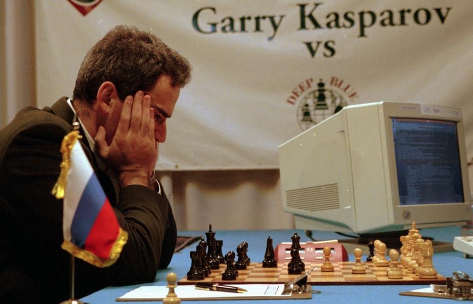 Maggio 1997: Garry Kasparov contro Deep Blue.