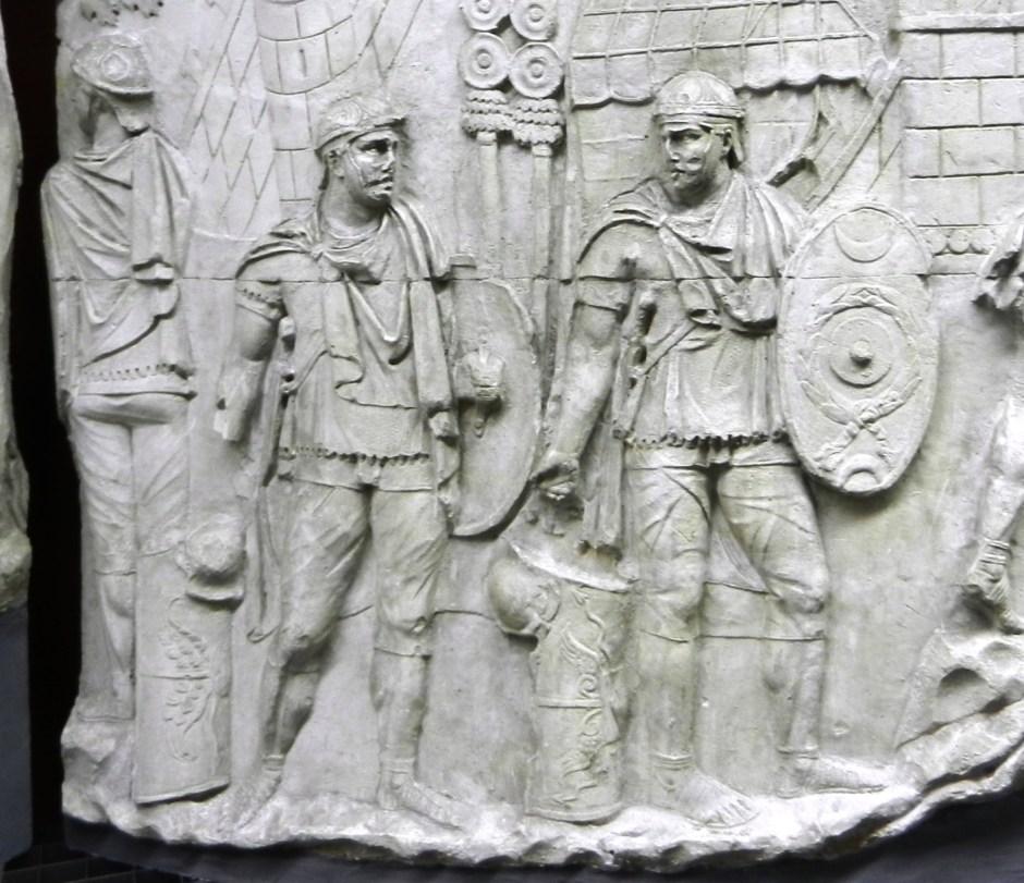 Soldati romani con le bracae, colonna traiana