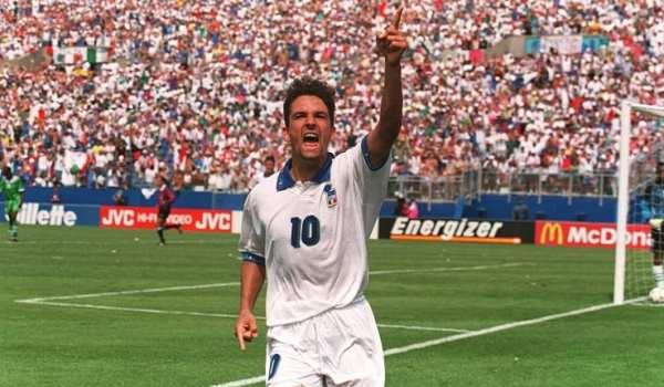 Baggio in gol co nero la Nigeria agli ottavi di USA '94