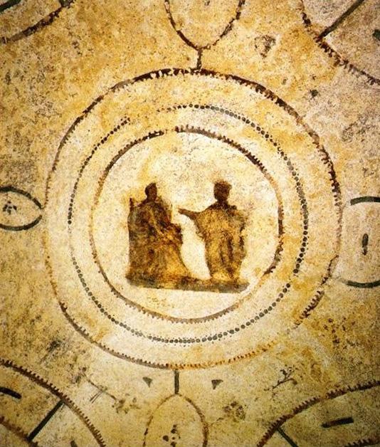 Annunciazione. Catacombe di Priscilla