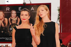 Anna Bederke e Pheline Roggan a Venezia