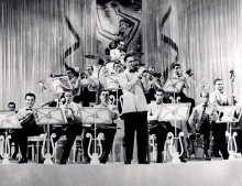 La big band di Benny Goodmann nel 1937