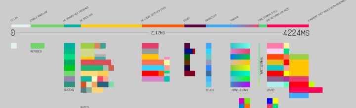 Writing in Colour – Vessel Colour Script