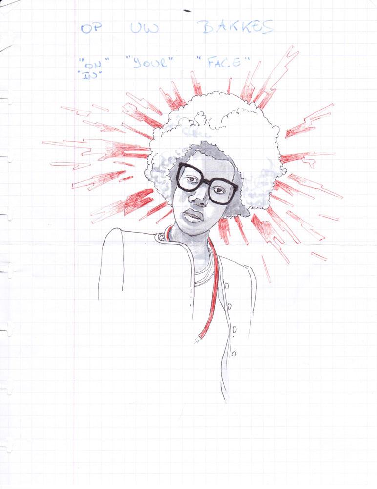 portrait-afro-op-uw-bakkes-aaron-bradbury