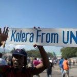 haiti-cholera-protester