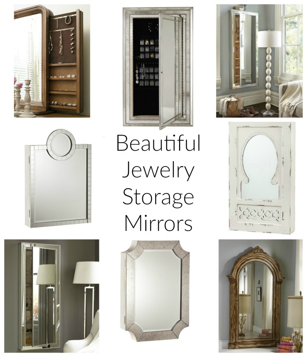 Jewelry Storage Mirrors