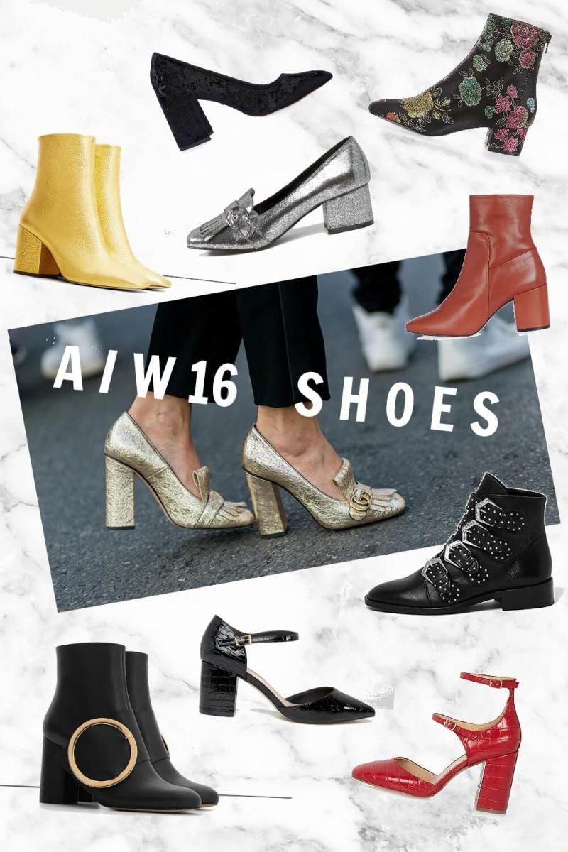 High Street Shoes That Nail The AW16 Trends