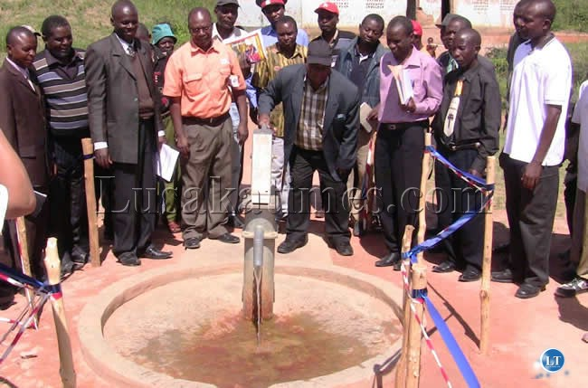 Over 5 million people have no access to clean water in Zambia