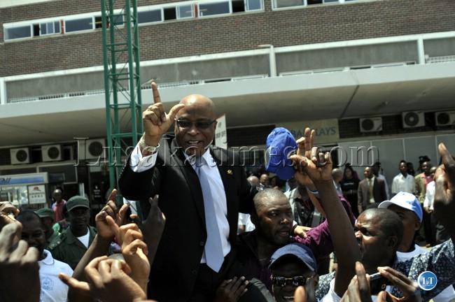 MMD Youth provincial leaders across Zambia back Nevers Mumba
