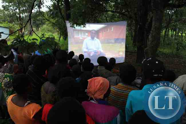 UPND Mobile cinema tour 'brings back fun to Zambians'