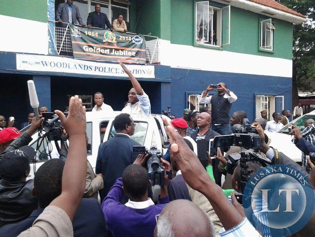 Police issue UPND president Hakainde Hichilema a warn and caution statement