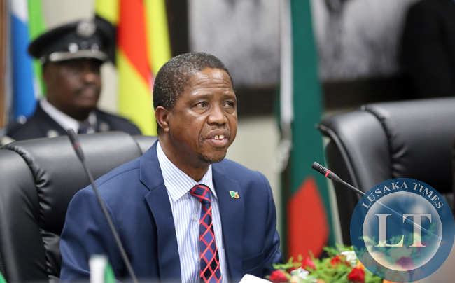 Zambian President Mr Edgar Lungu  at the Dr David Livingstone Safari  in Livingstone The Summit of the African Union Committee of Ten Heads of State on the Reform of the Security Council  on Saturday 10th May2015 . Pictures By EDDIE MWANALEZA/STATEHOUSE.