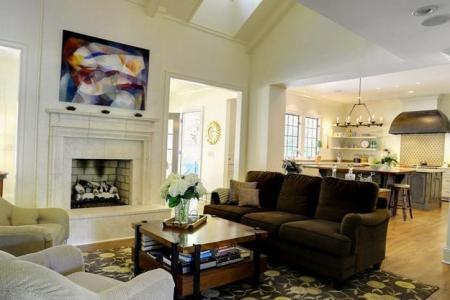 open plan modern living room designs 5