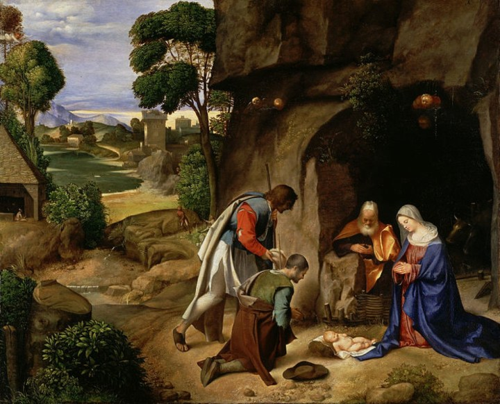 Nativity Giorgione 1507
