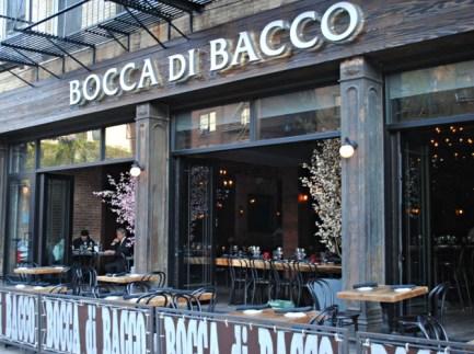 Bocca di Bacco Restaurant - Five Locations in New York City