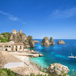 Beaches in Sicily Italy