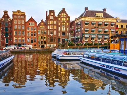 Luxury in Amsterdam on a weekend escape