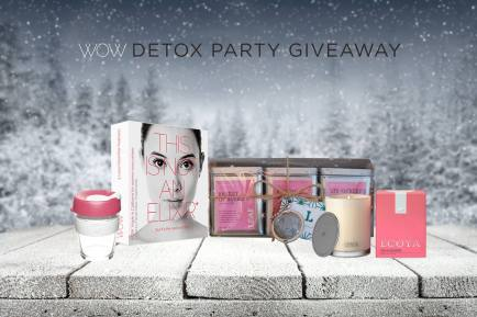 wowmask giveaway detox