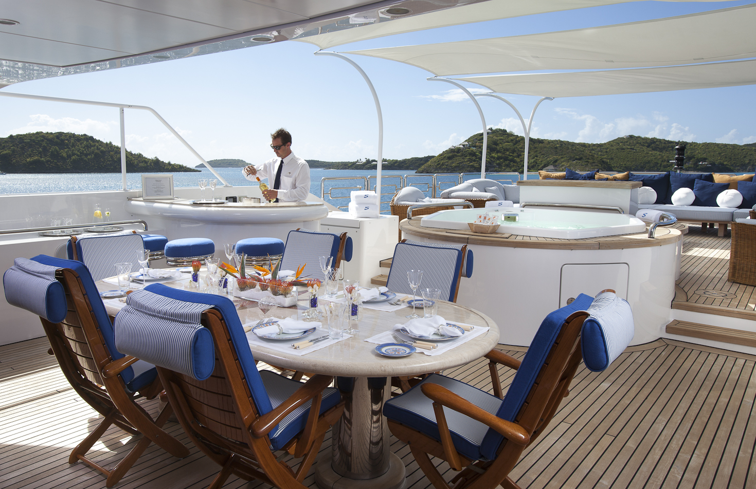 Fabulous Themed Suppers for your Superyacht Soiree