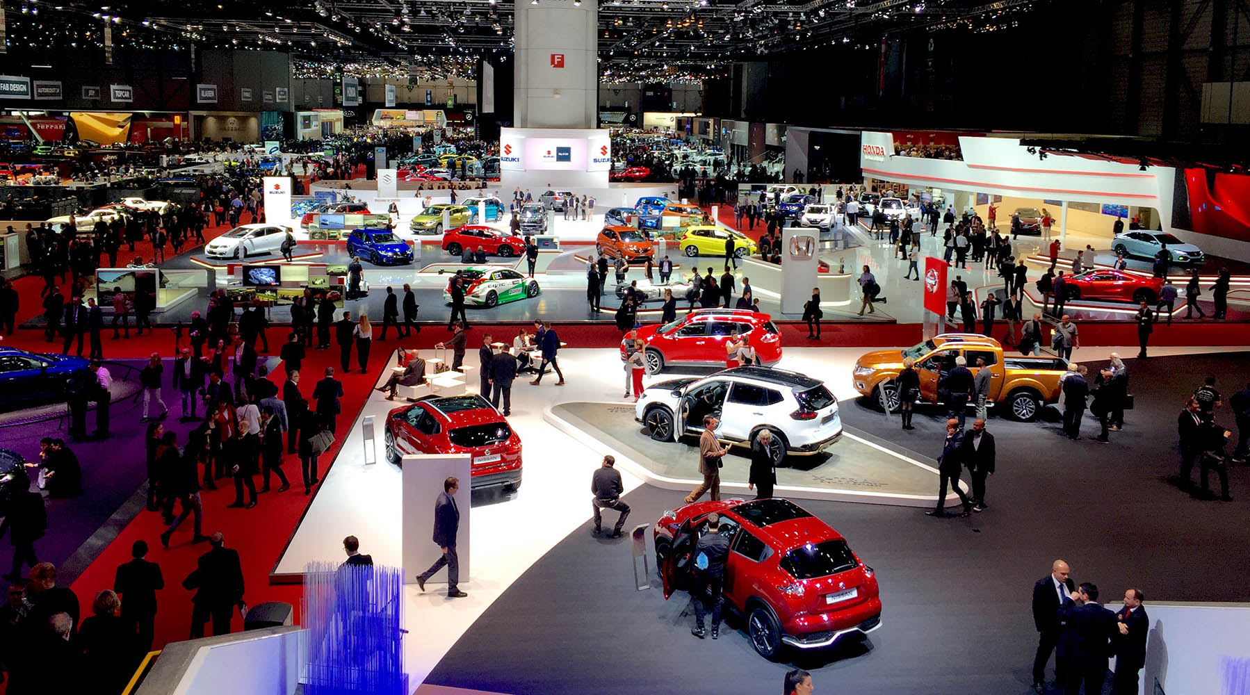 Le salon international de l automobile de gen ve en for Salon du fitness palexpo
