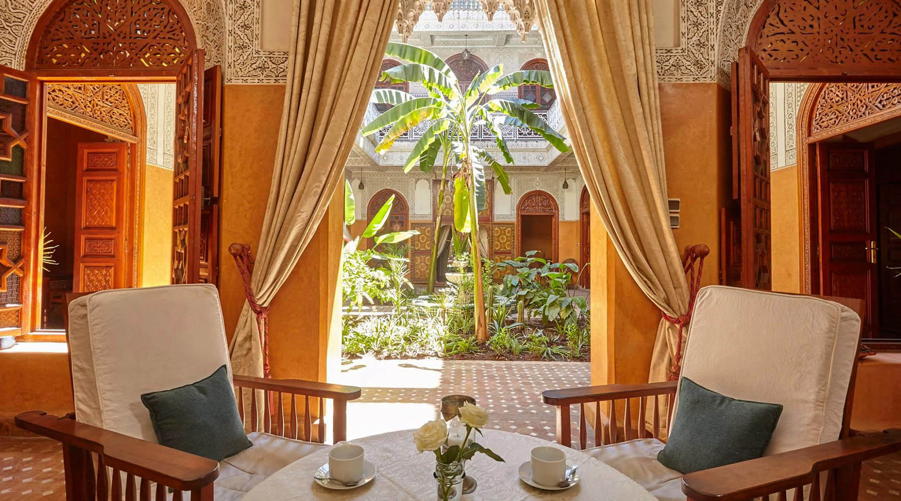 Patrimoine le jardin secret marrakech ouvert au grand for Au jardin secret