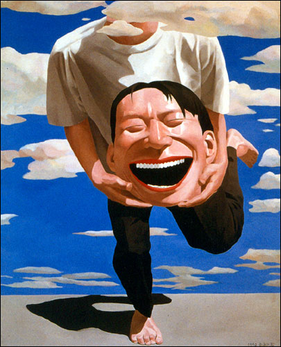 yue_minjun_art_holding_head