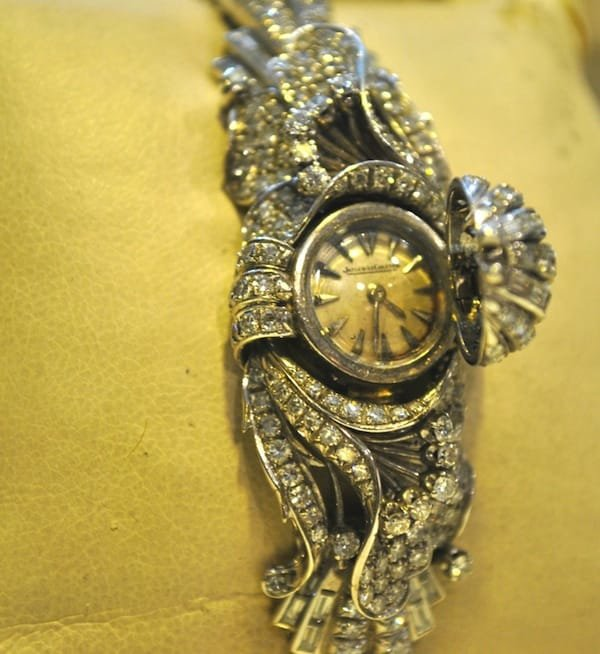 Jaeger LeCoultre 25 CT Dia Brac:Watch in Platinum