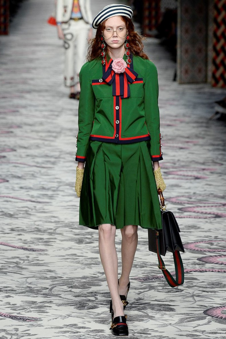 Gucci Spring 2016 RTW Collection look 10