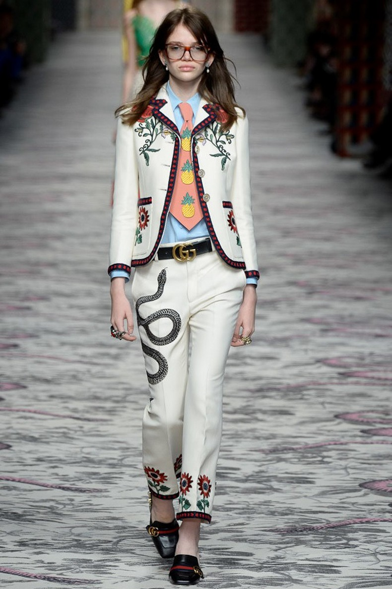 Gucci Spring 2016 RTW Collection look 11