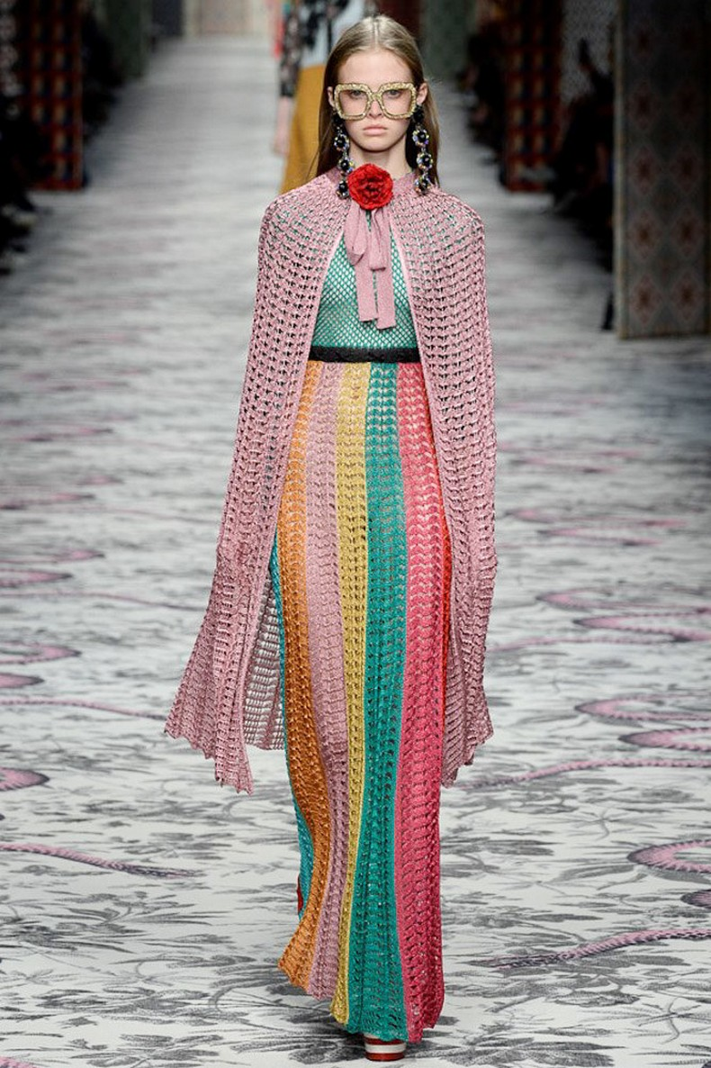 Gucci Spring 2016 RTW Collection look 15