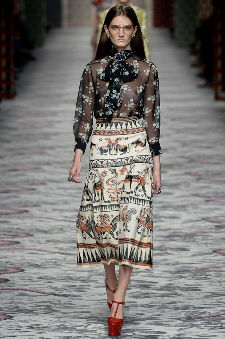 Gucci Spring 2016 RTW Collection look 40
