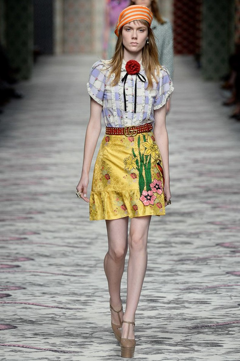 Gucci Spring 2016 RTW Collection look 46