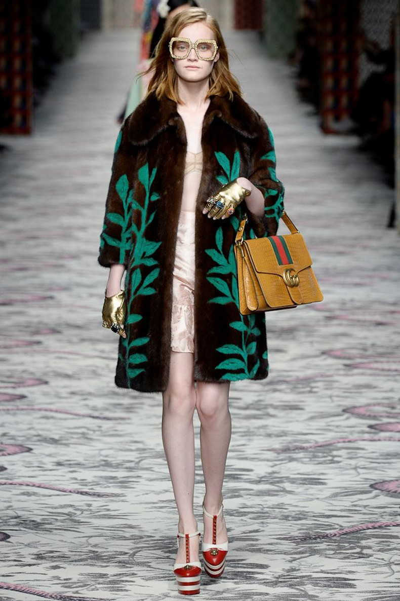 Gucci Spring 2016 RTW Collection look 5