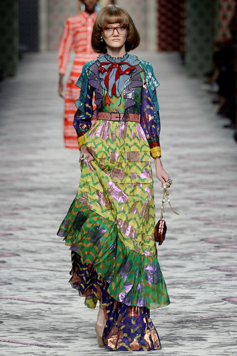 Gucci Spring 2016 RTW Collection look 6