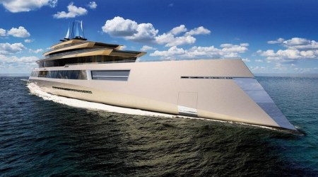 Super yacht of the future - Dutch design firm presents SYMMETRY Bi-Directional Concept Yacht 1