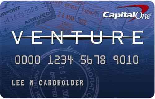 Venture Visa-Karte