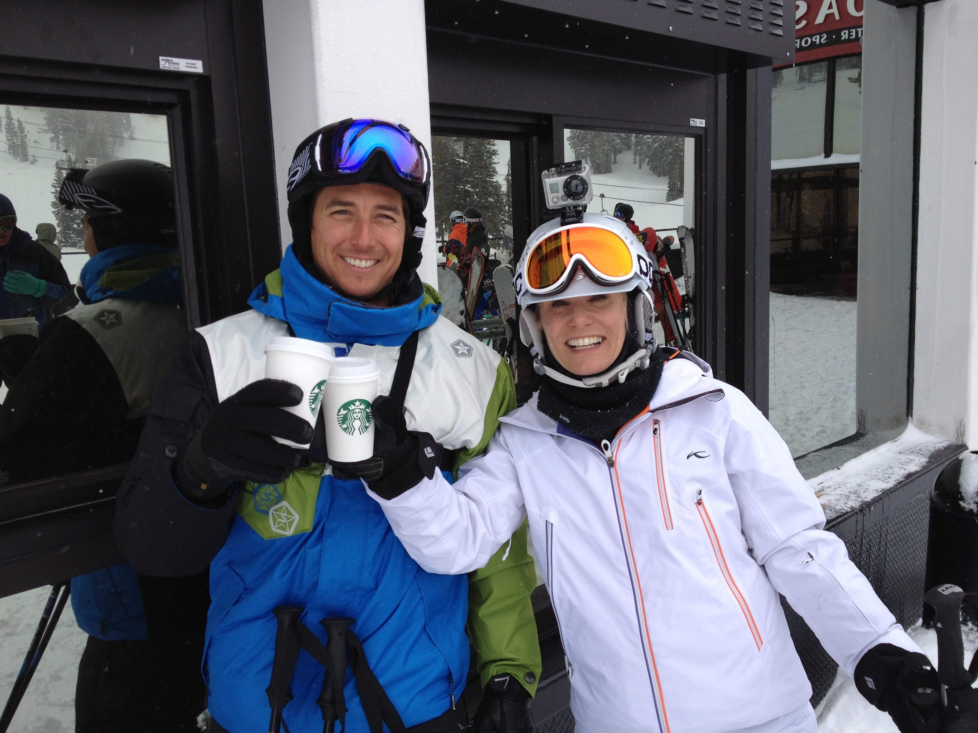 Jonny Moseley Squaw Valley Ski Vacation Kim-Marie Evans Luxury Travel Mom