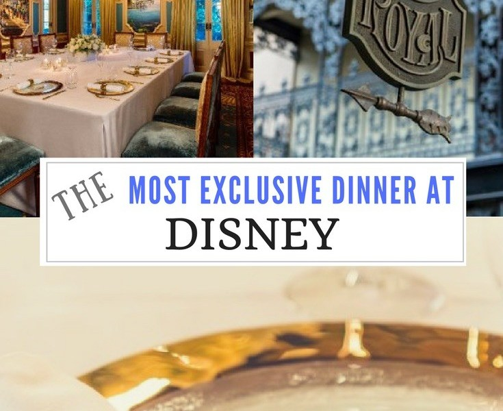 Exclusive private dining at Disney