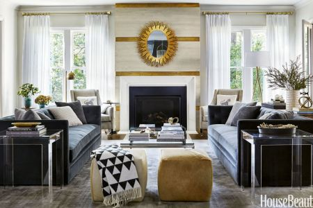 living room decoration ideas for spring 2017 gold