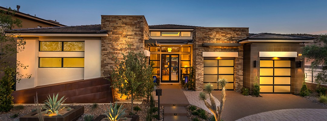 New Homes In Summerlin South Las Vegas Las Vegas Modern