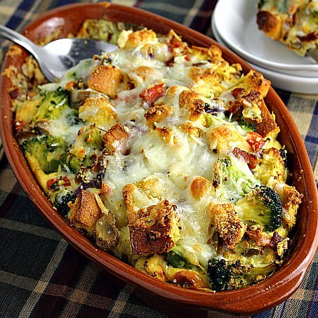 Veggie Filled Breakfast Strata